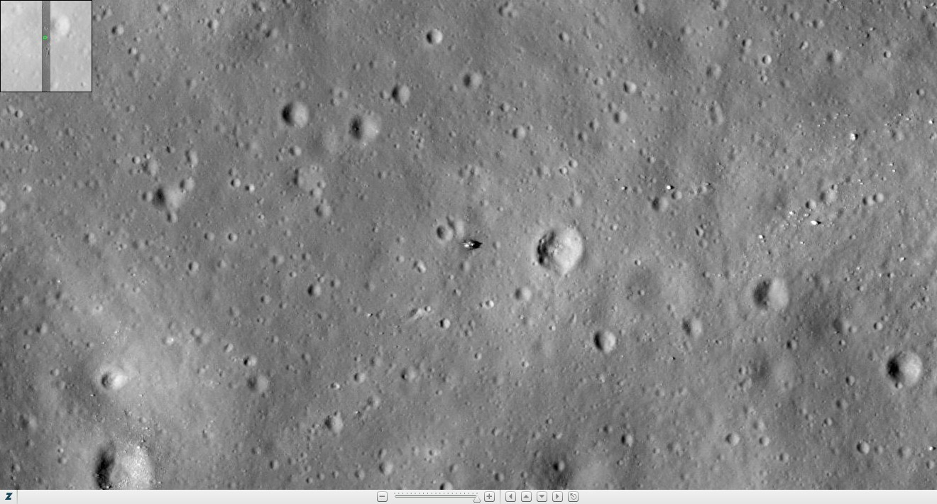 apollo tracks on moon - photo #6